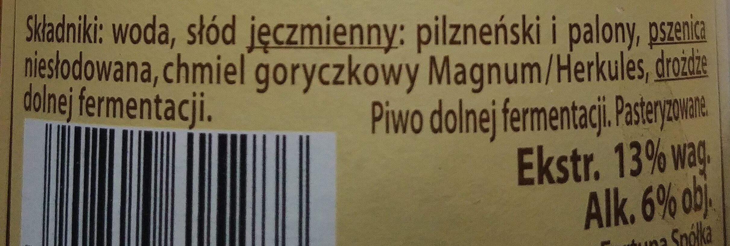 Marcowe - Ingredients - pl