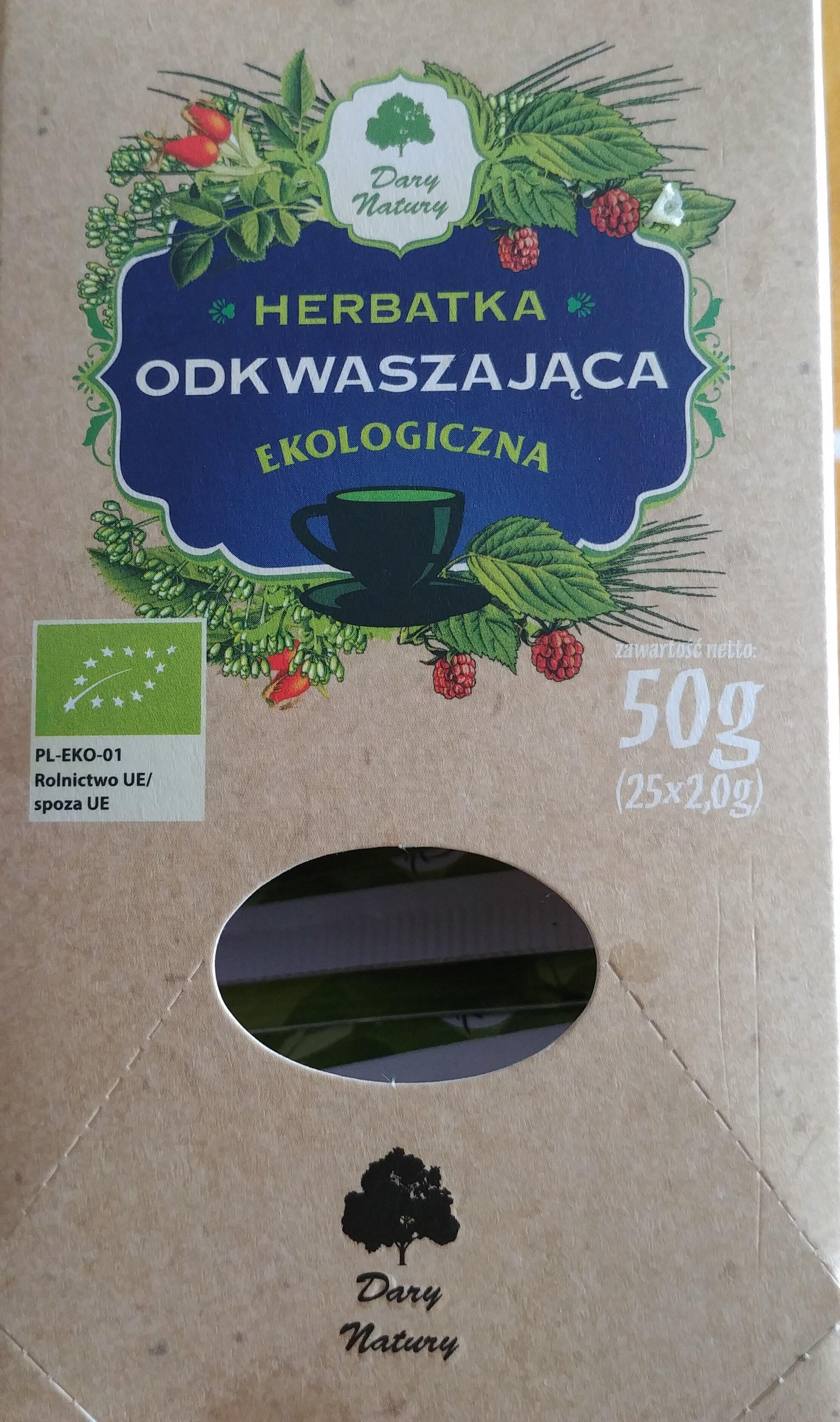 Herbatka odkwaszająca - Produkt - pl