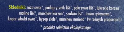 Herbatka odkwaszająca - Składniki - pl