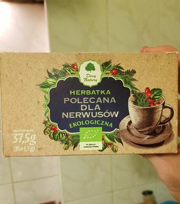 Herbata polecana dla nerwusów - Produit - pl