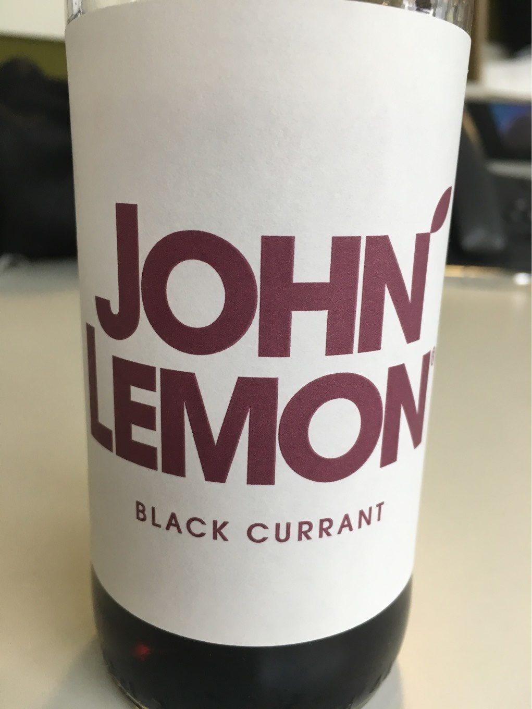 On' Lemon Black Currant - Product - fr