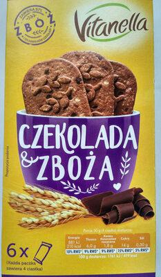 Ciastka czekolada zboża - Produkt - pl