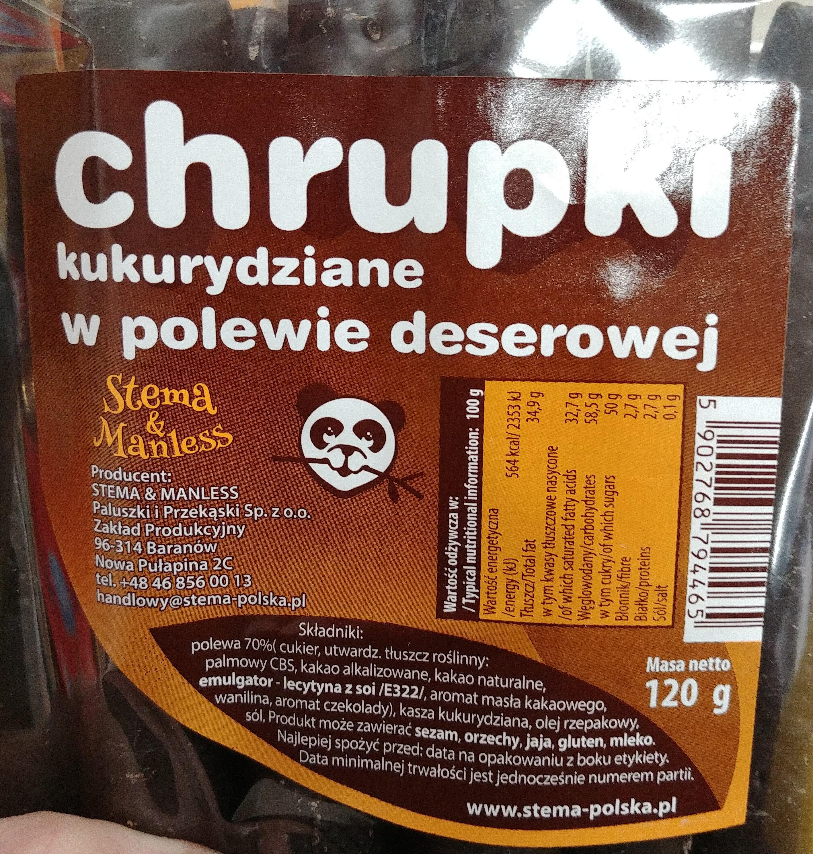 Chrupki kukurydziane w polewie deserowej - Produkt - pl