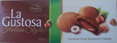 La Gustosa Biscuiti crocanti cu crema alune - Produkt
