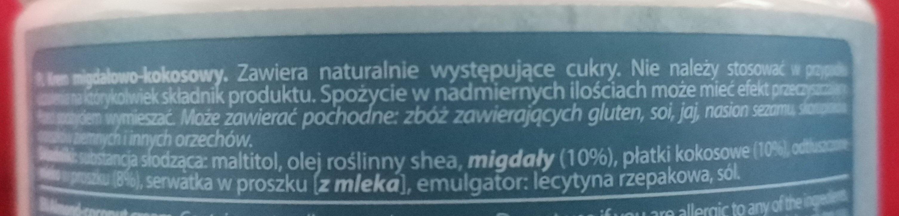 NUT LOVE - Ingredients - pl