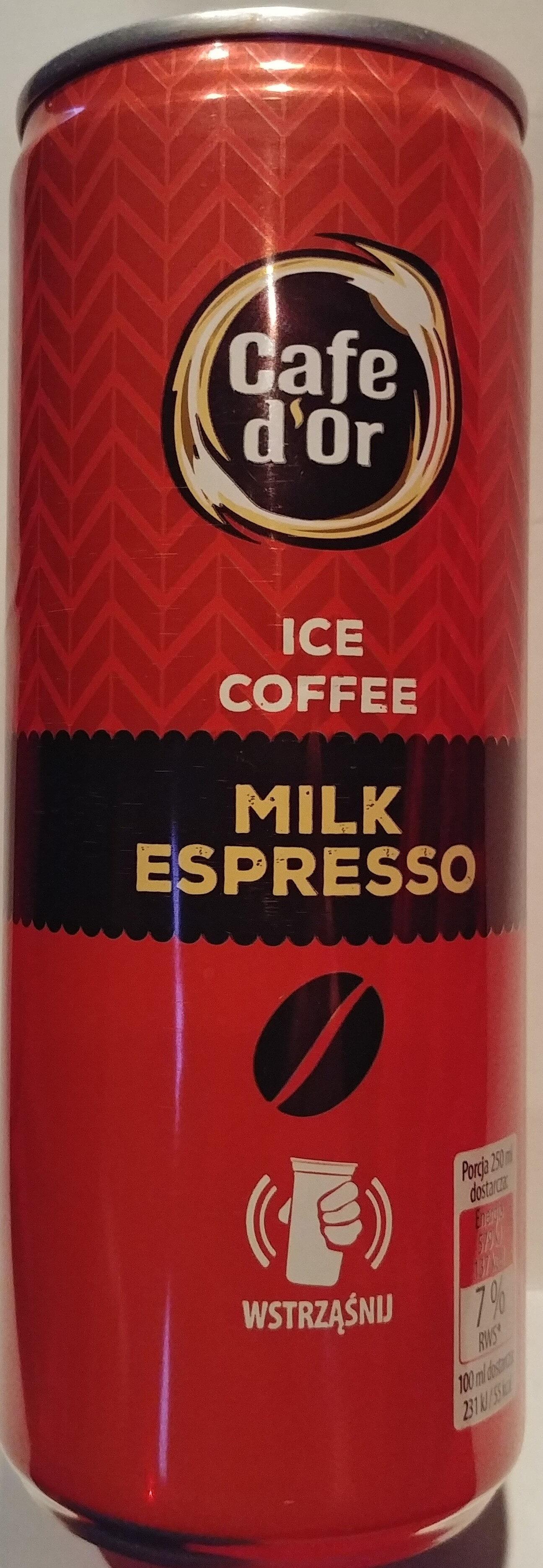 Napój mleczno-kawowy o smaku espresso. - Product - pl