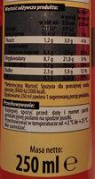 Napój mleczno-kawowy o smaku espresso. - Nutrition facts - pl