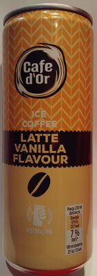 Napój mleczno-kawowy o smaku latte vanilla. - Produkt