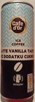 Napój mleczno-kawowy o smaku waniliowego latte. - Product - pl