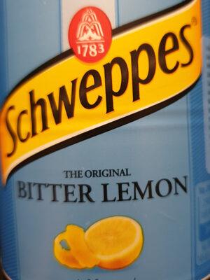 Schweppes bitter lemon - Produit - fr