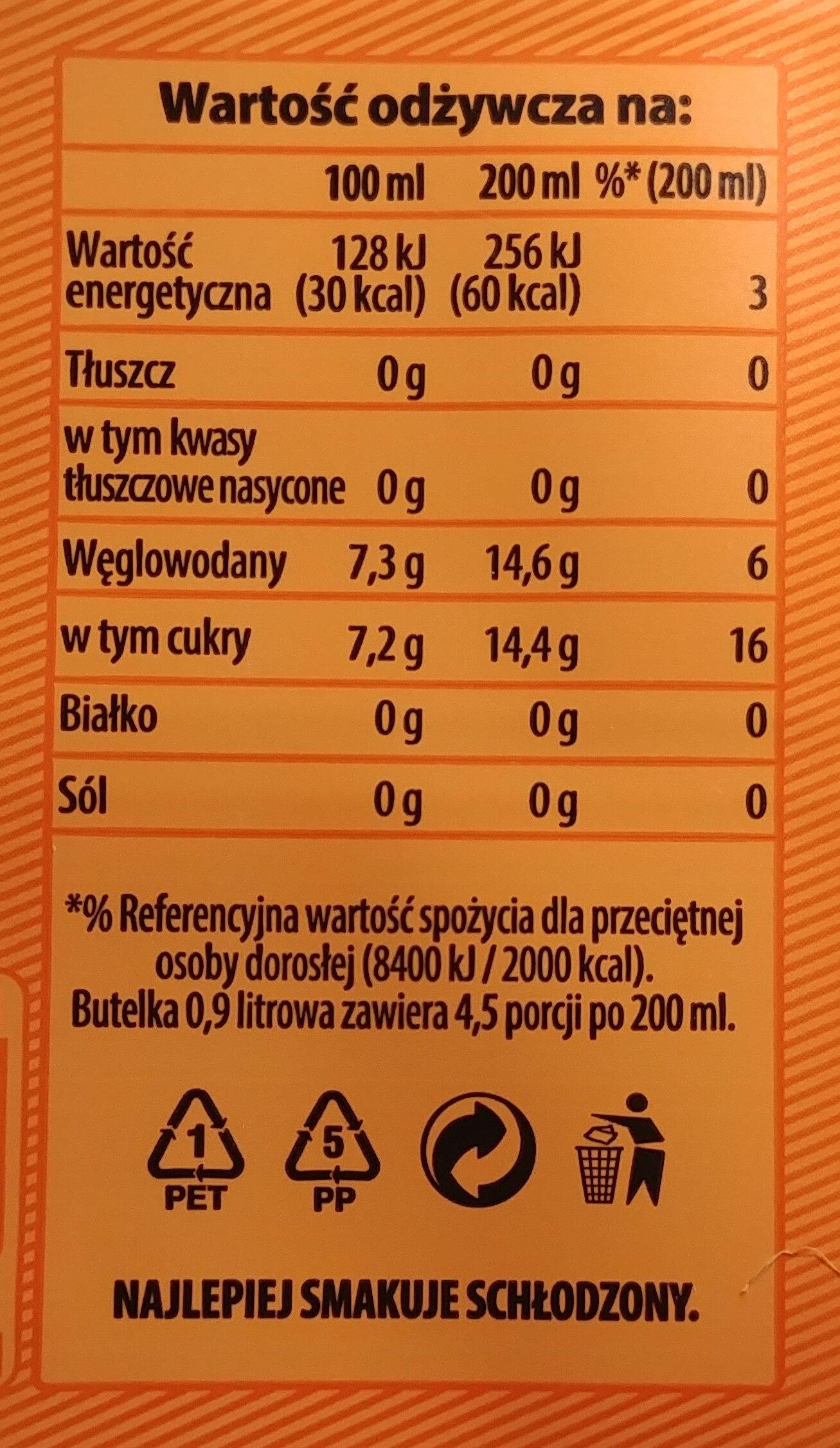 Napój gazowany o smaku cytrusowym. - Informations nutritionnelles - pl