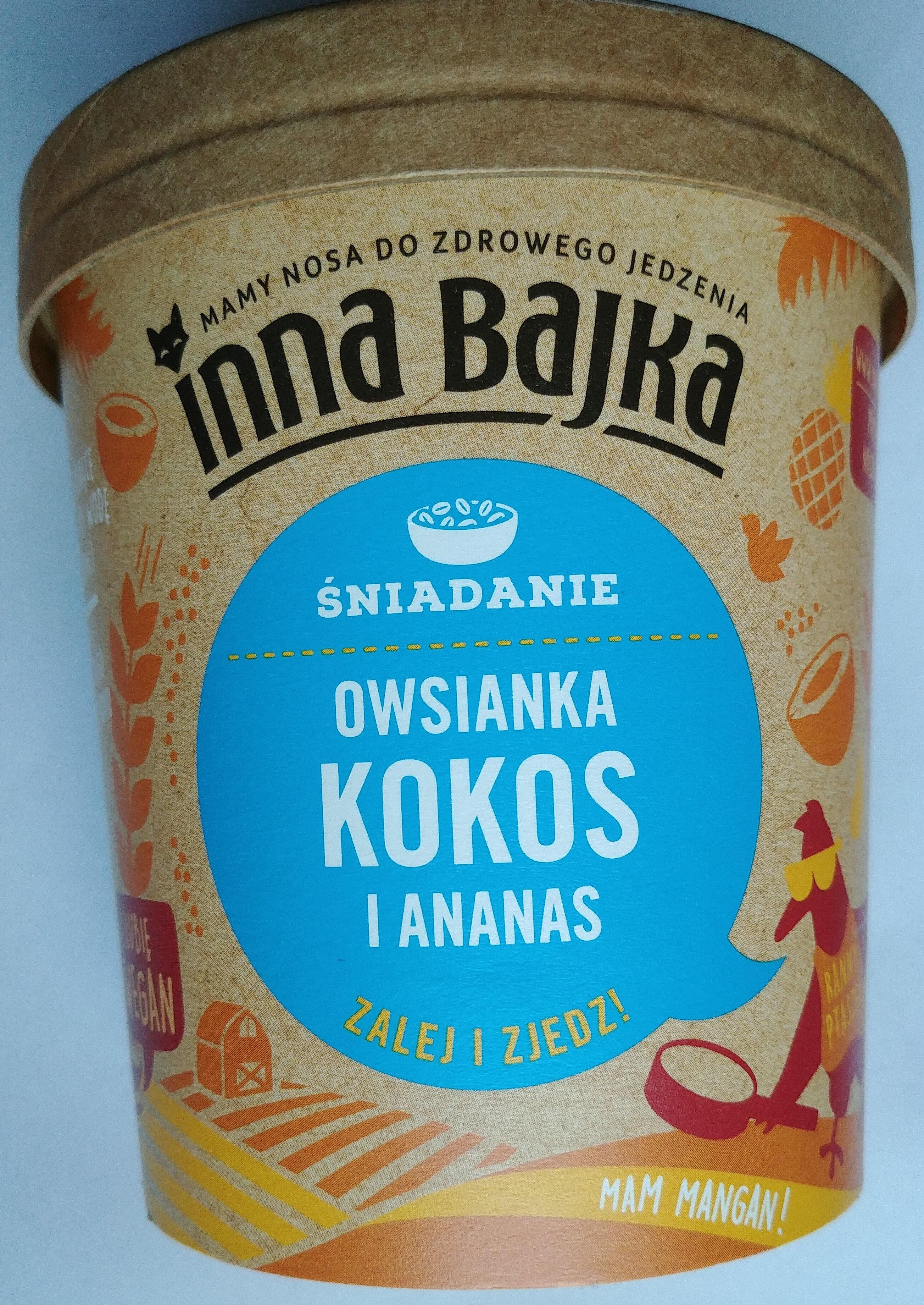 Owsianka kokos i ananas - Produkt