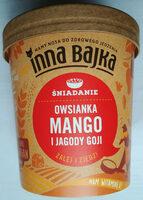 Owsianka Mango i Jagody Goji - Produkt