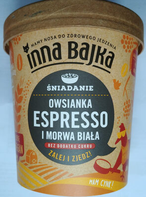Owsianka Espresso i morwa biała - Produkt - pl