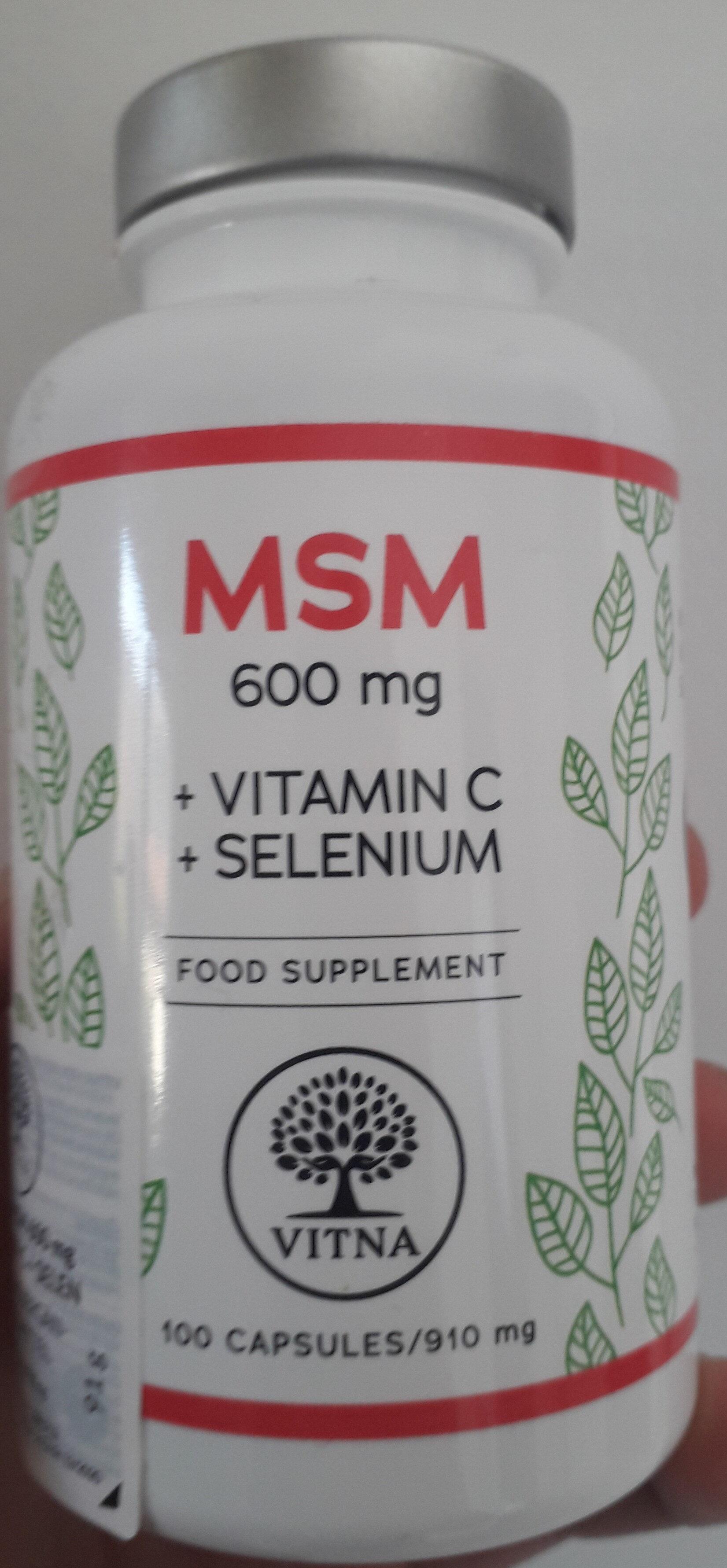 MSM Vitamine C + Sélénium - Produkt - fr