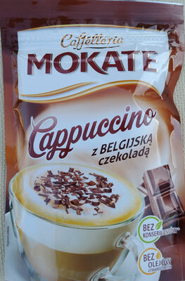 Mokate Cappuccino z belgijską czekoladą - Produkt