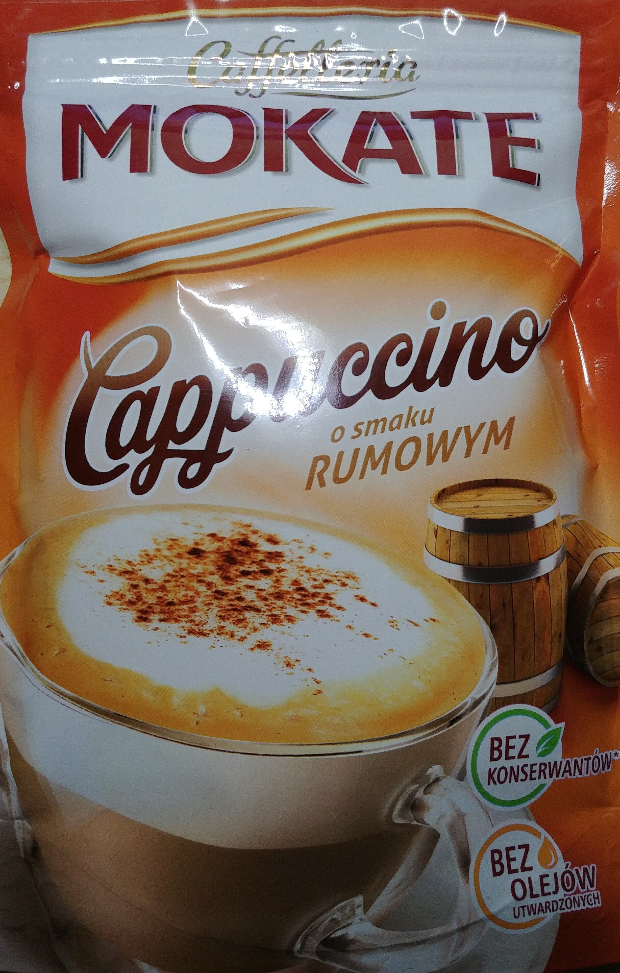 Cappuccino o smaku rumowym - Produkt