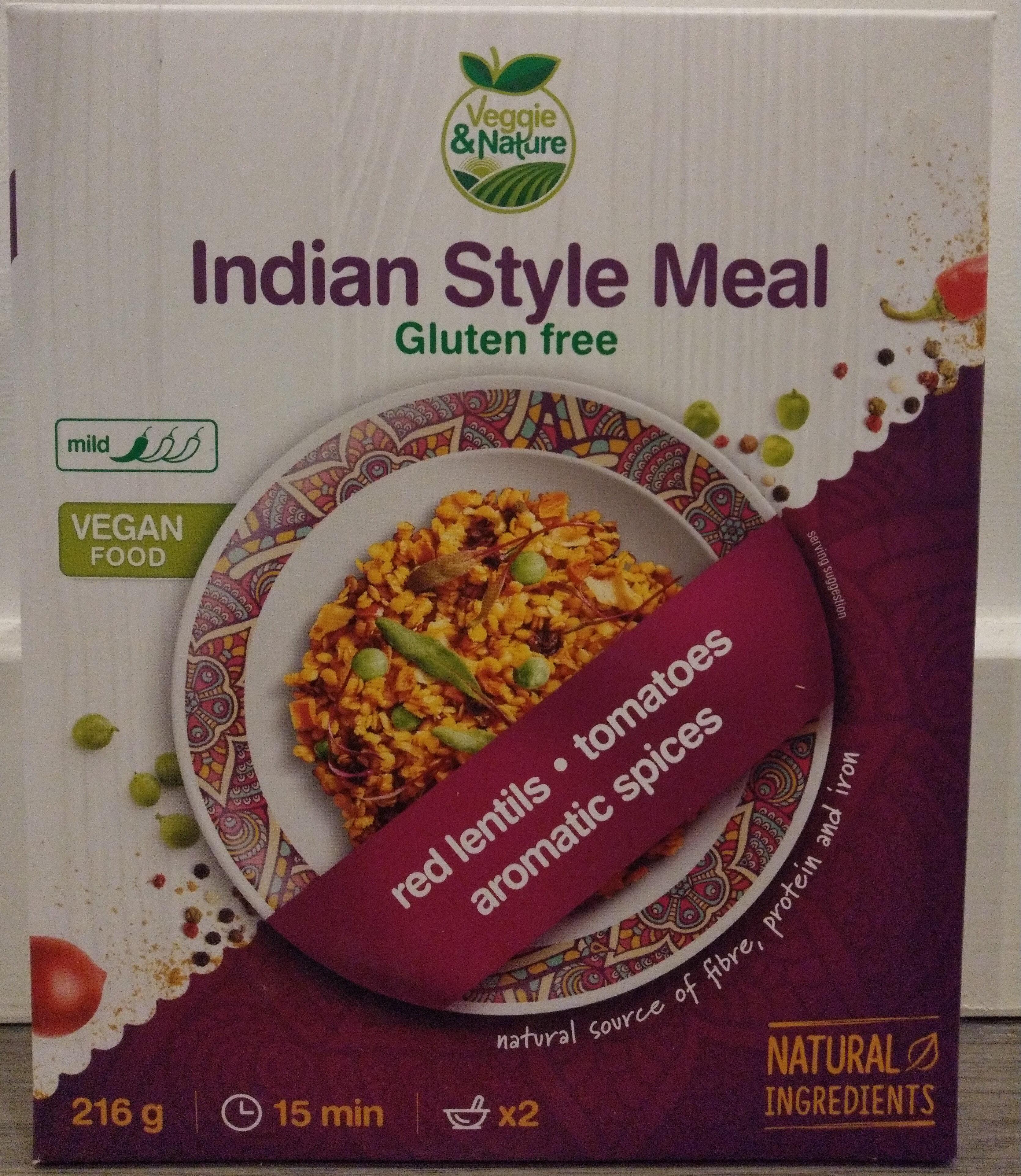 Indian style meal - Produit - en