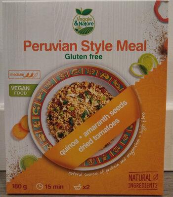 Peruvian Style Meal - Produit - en
