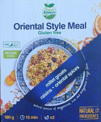 Oriental style meal - Produit - en