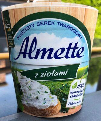 Hochland Almette Soft Cheese Herb 150G - Produit - fr