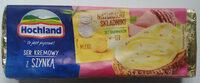 Ser kremowy topiony w bloczku z szynką - Produkt - pl