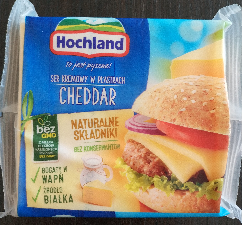 Ser Kremowy Cheddar - Produkt - pl