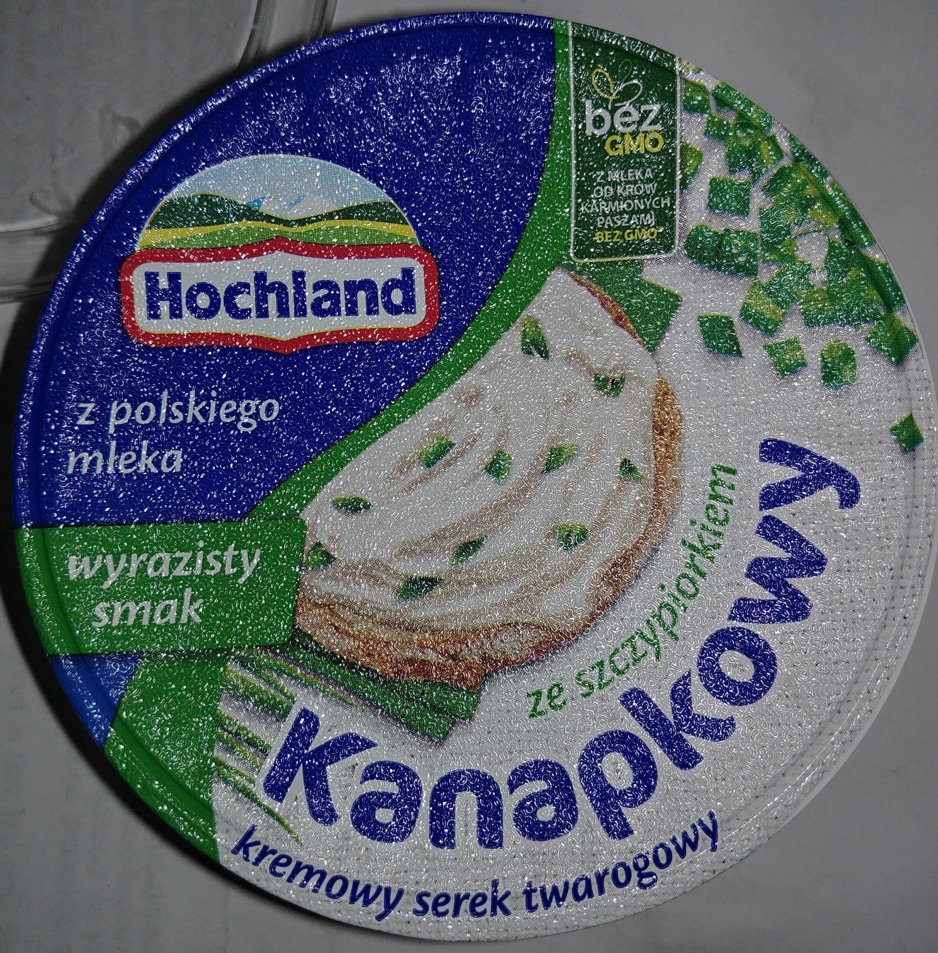 Kremowy serek twarogowy kanapkowy ze szczypiorkiem - Produkt - pl