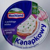 Serek twarogowy z czosnkiem i ziołami - Produkt - pl