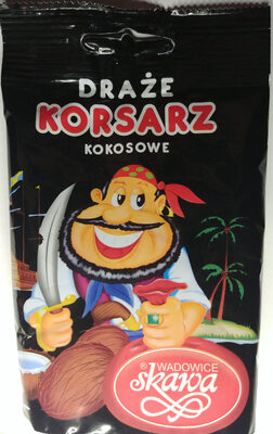 Draże korsarz kokosowe. - Produkt