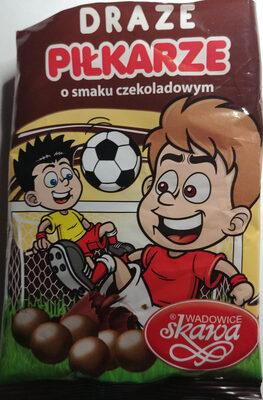 Draże piłkarskie o smaku czekoladowym - Produkt - pl