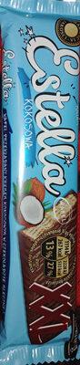 Wafel przekładany kremem kokosowym w czekoladzie mlecznej - Produkt - pl