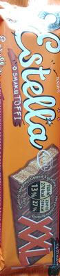 Wafel przekładany kremem o smaku toffi w czekoladzie mlecznej - Produkt - pl