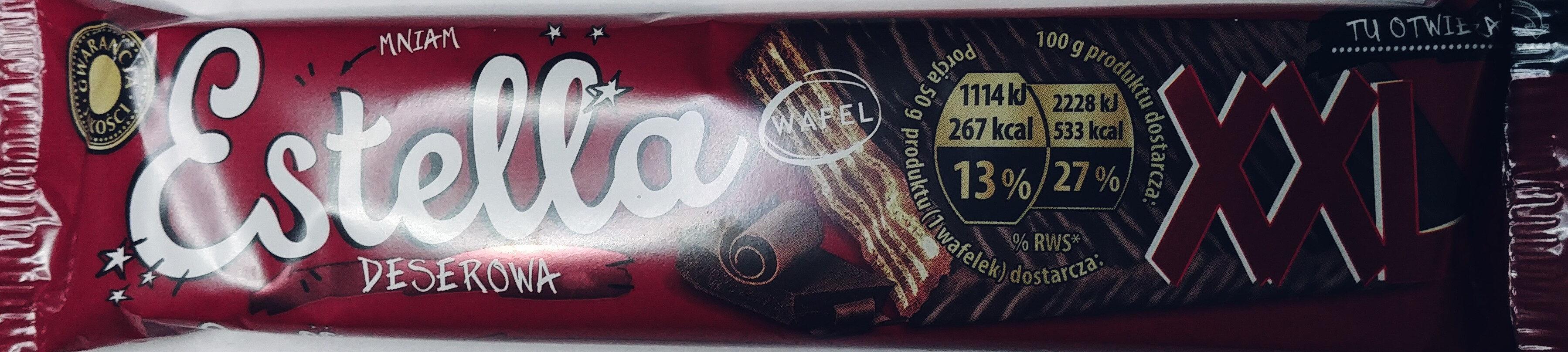 Wafel przekładany kremem kakaowym (52,9%) w czekoladzie - Produkt - pl