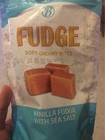 Fudge Vanilla With Sea Salt - Produit - fr