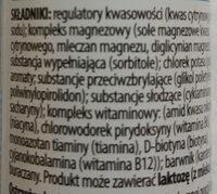Maga mag o smaku pomarańczowym - Ingredients