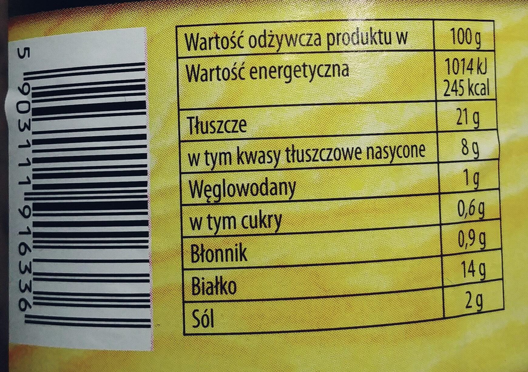 Kiełbasa ze wsi - Informations nutritionnelles - pl