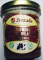 Wołowina w sosie własnym - Produkt - pl