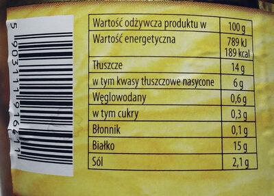 Wołowina w sosie własnym - Wartości odżywcze - pl