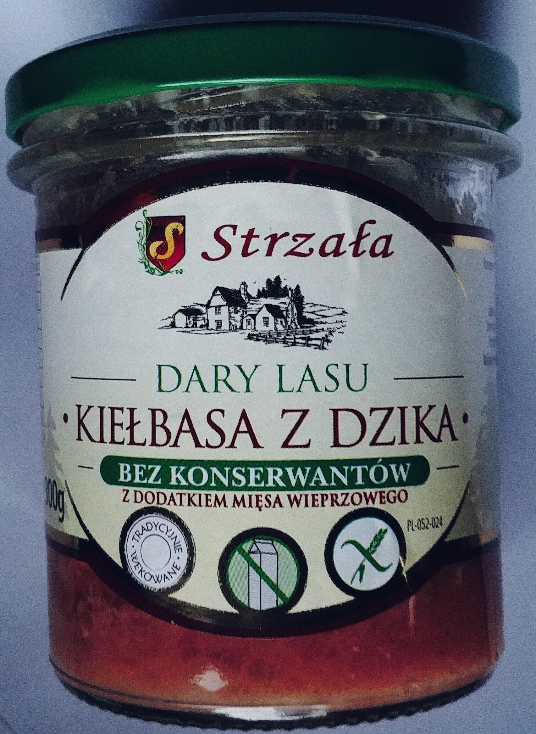 Konserwa mięsna z dziczyzny z dodatkiem mięsa wieprzowego - Product - pl