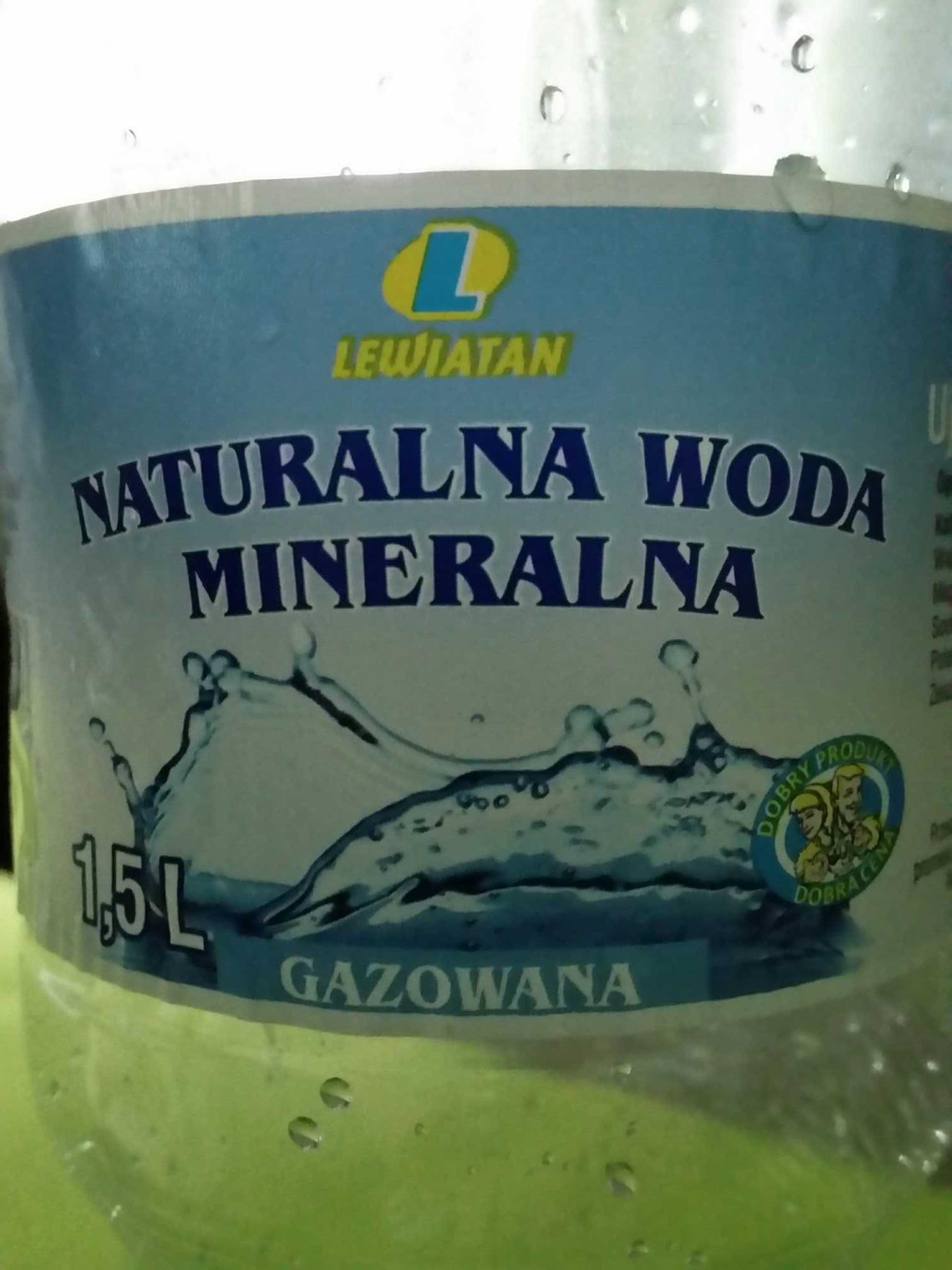 Naturalna Woda Mineralna - Product - en