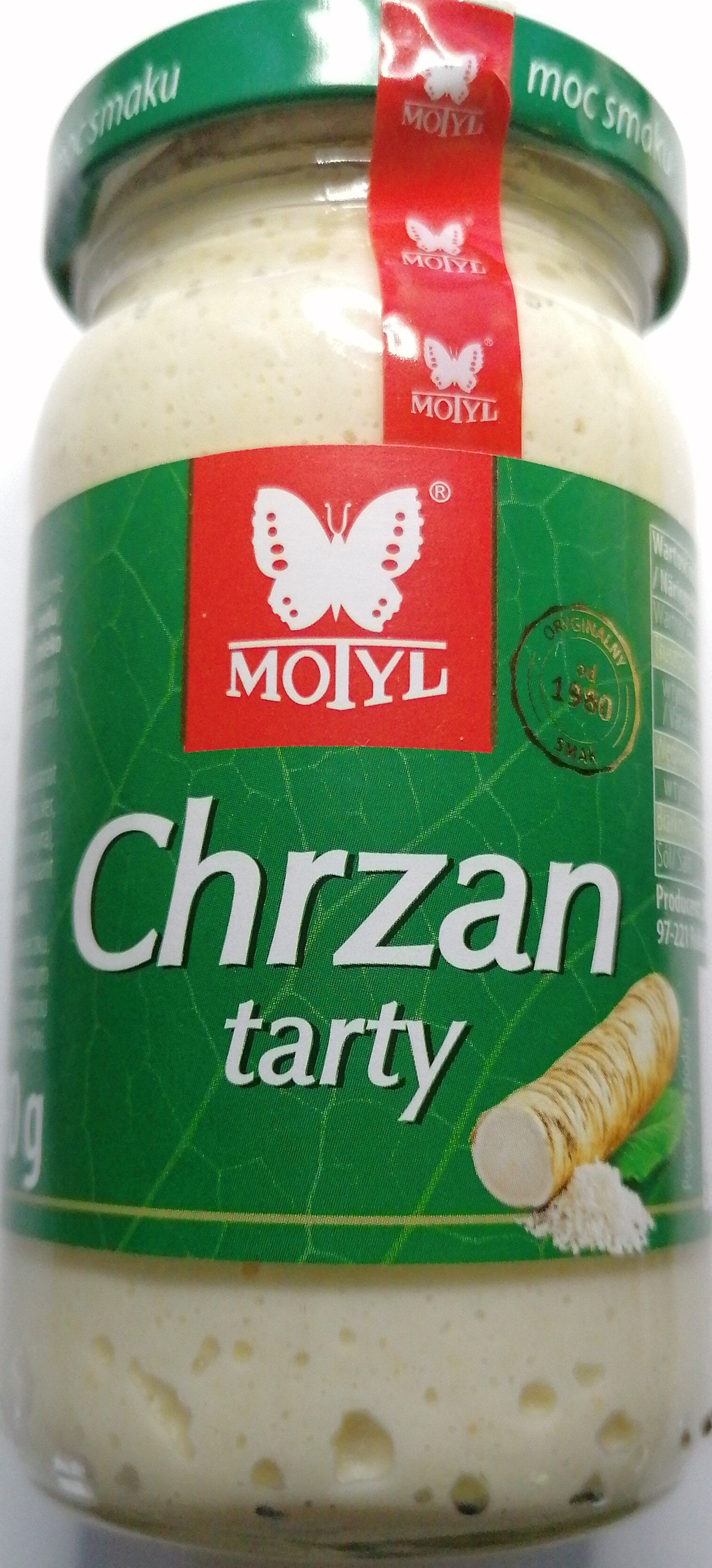 Chrzan tarty - Product