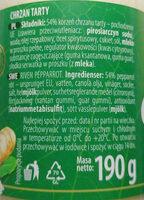 Chrzan tarty - Ingredients