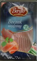 Boczek wędzony, plastry - Produkt - pl