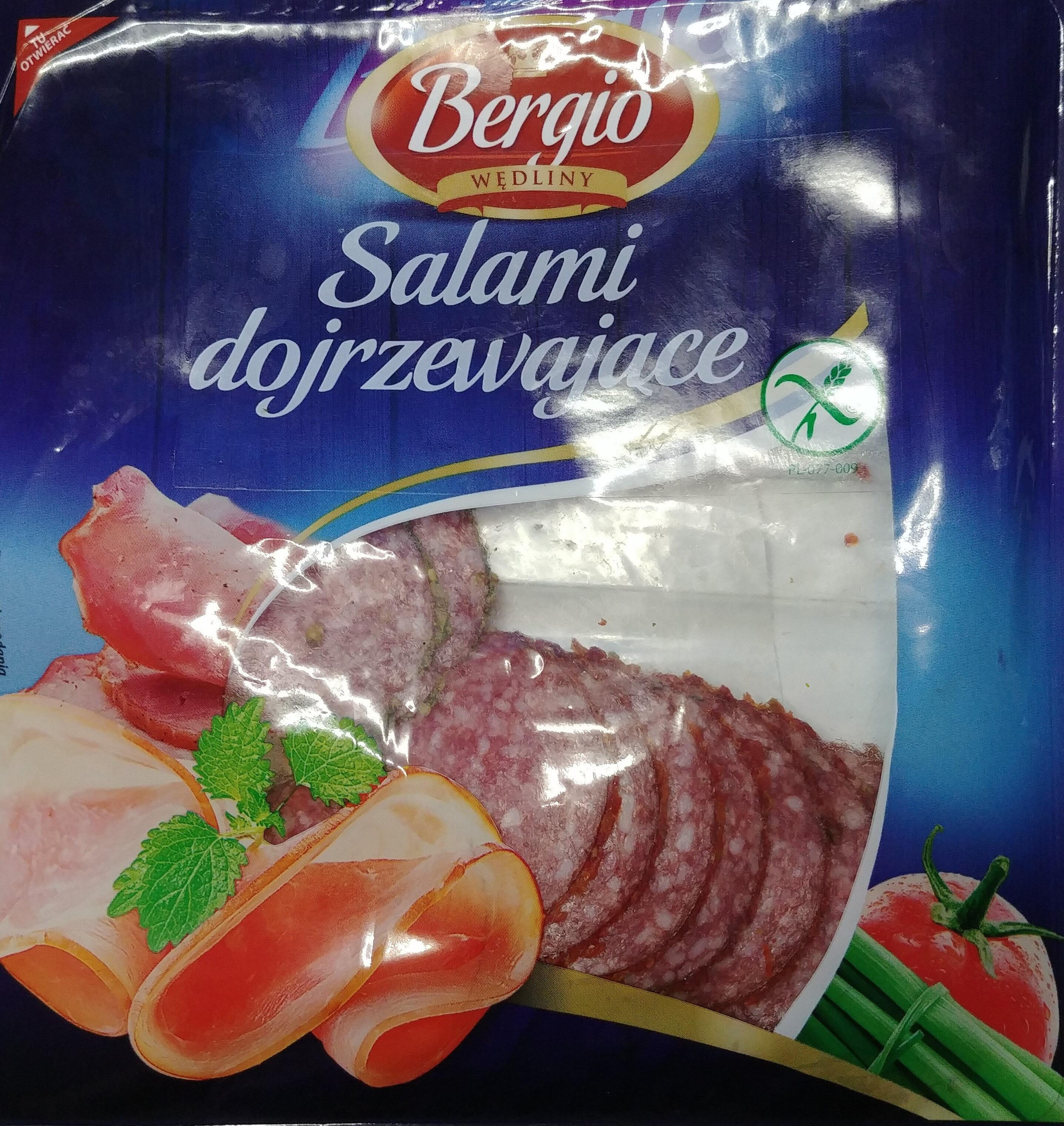 Salami dojrzewające - Produkt
