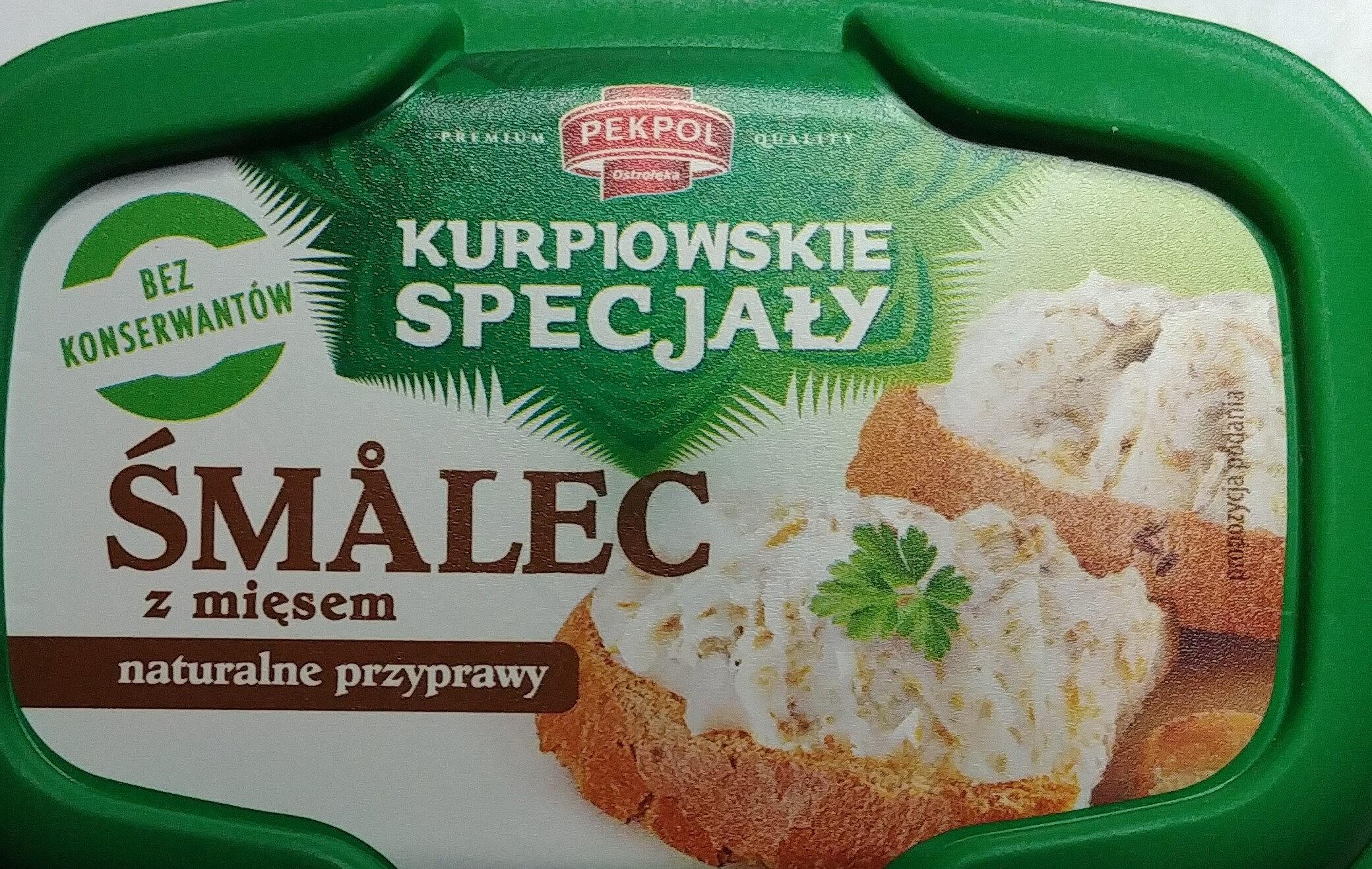 Smalec z mięsem - Product - pl