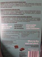 Cereal Pillows with choco-nut - Información nutricional