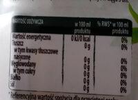 Herbata z naparu biała z jaśminem - Wartości odżywcze - pl