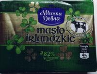 Masło Irlandzkie - Produkt