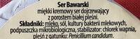 Ser Bawarski pleśniwy, kremowy łagodny - Składniki - pl